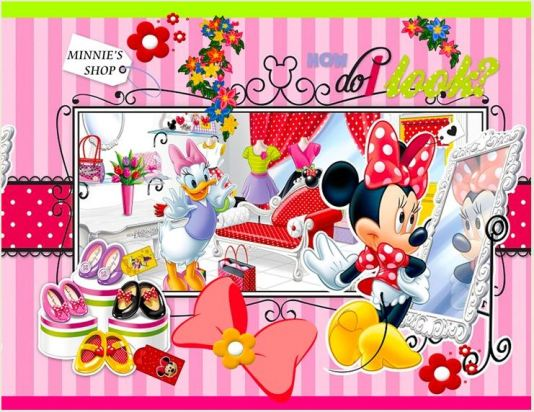 """Minnie shop"" K5061"
